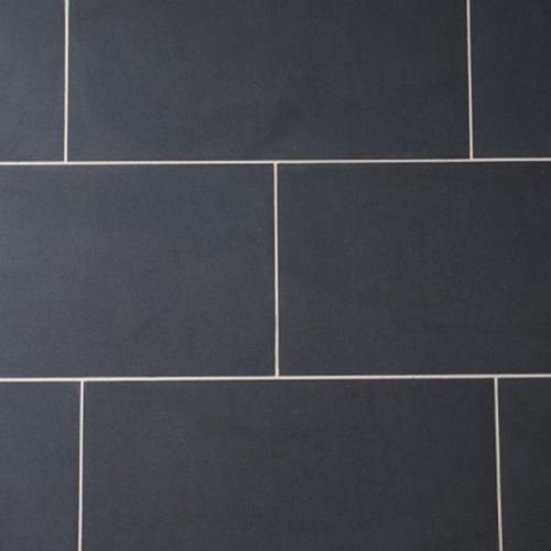 Black Glazed Porcelain Wall Tiles