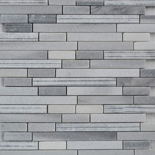 Grey Strip Mosaic Tiles