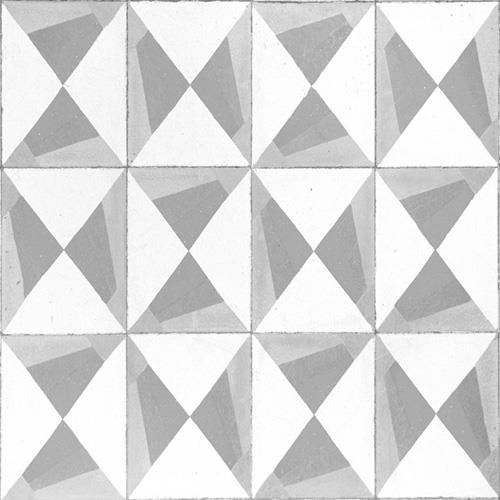 Grey Triangle Mosaic Tiles