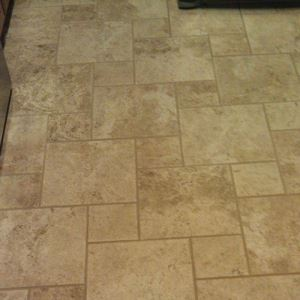 Beige Glazed Ceramic Floor Tiles
