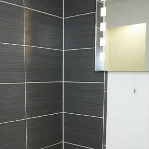 Black Glazed Ceramic Wall Tiles
