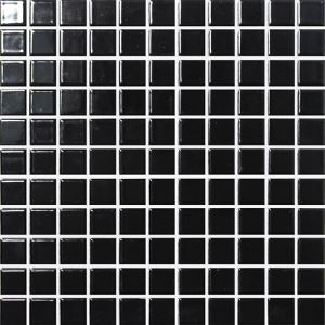 Black Square Mosaic Tiles