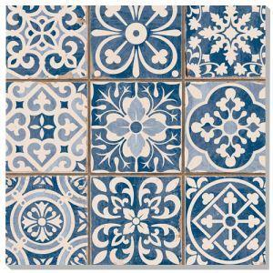 Blue Polished Porcelain Wall Tiles
