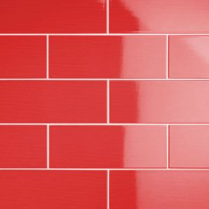 Red Matte Ceramic Wall Tiles