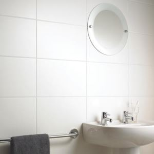 White Matte Porcelain Wall Tiles