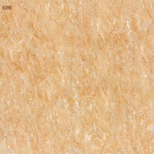 Yellow Marble-Look Wall Porcelain Tile