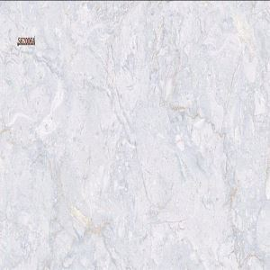 Grey Marble-Look Floor Procelain Tile